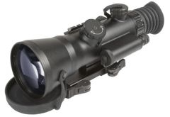 "AGM Wolverine-4 NL3  Night Vision Rifle Scope 4x Gen 2+ ""Level 3"" with Sioux850 Long-Range Infrared Illuminator"