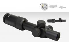 U.S. Optics SR-4C 1-4x RED DOT Mil Scale Reticle