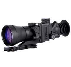 D-790UW 6.0x83 B&W Elite NV Sight, White Phosphor Aviation Grade Gen 3+ Unfilmed Auto-gated with Manual Gain, HD Optics
