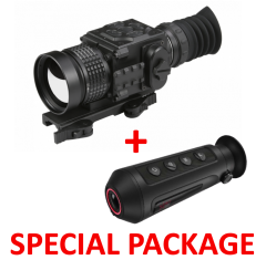 AGM Secutor TS50-384 – Compact Medium Range Thermal Imaging Rifle Scope 384x288 (50 Hz), 50 mm lens Package