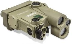STEINER DBAL-A4 v2 Red Vis <5mW, IR Pointer <0.7mW, LED IR Illuminator 110-300, White Light 500L Tan