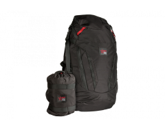 AGM Backpack - Foldable 28L Travel Backpack 51x32 cm, Packed 20x14x14 cm, 555g, Color Black