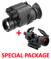NVG PVS-14 Night Vision Monocular Gen 3 Auto-Gated Manual Gain Made in USA Package
