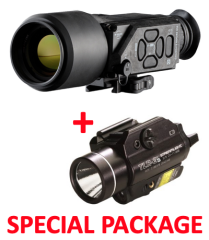 N-Vision Optics HALO-LR 640x480 Thermal Imaging Scope Package