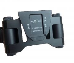 MOD Armory Integrated Components Dual PVS-14 Light Weight Dovetail Mounting System