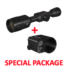ATN ThOR 4 640 2.5-25X50 Smart HD Thermal Riflescope Package
