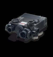 Steiner LDI DBAL-I2 PEQ2 Dual Beam IR Pointer and LED Illuminator Black