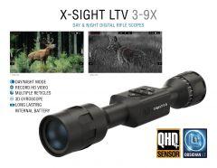 ATN X-Sight LTV 3-9x, Day/Night Hunting Rifle Scope