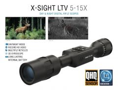 ATN X-Sight LTV 5-15x, Day/Night Hunting Rifle Scope