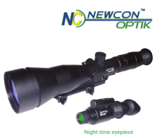 Newcon Optik DN 533 11X Day and Convertible Night Vision Riflescope Gen III