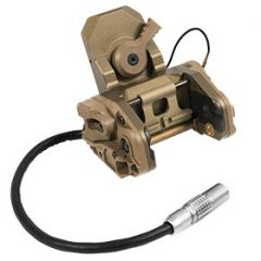 Wilcox GSGM Mount Assembly for use on the ACH-MICH Helmets