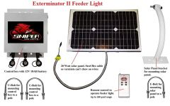 Sniper Hog Lights Exterminator II Feeder Light IR