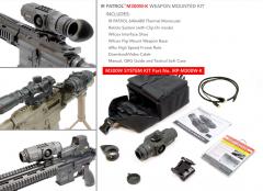 Trijicon IR Patrol M300W-K Thermal Monocular Kit 640x480 19mm 60HZ 1x-8x