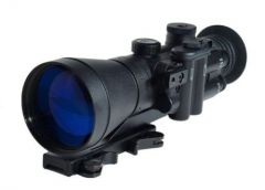 NV Depot NVD-740 Gen 3 Pinnacle Night Vision Riflescope 4X HP White Phosphor Tube