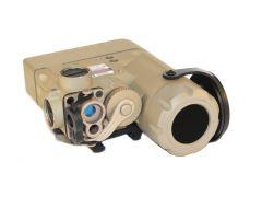Steiner LDI DBAL-D2 Green Dual Beam Aiming Laser Class 1 IR Laser Tan