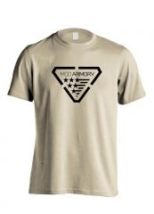 Mod Armory Logo T-Shirt Sand M