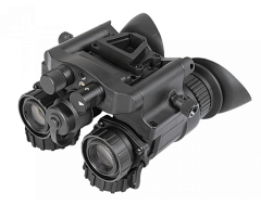 "AGM NVG-50 3AW1  Dual Tube Night Vision Goggle/Binocular 51 degree FOV Gen 3+ Auto-Gated ""White Phosphor Level 1"""
