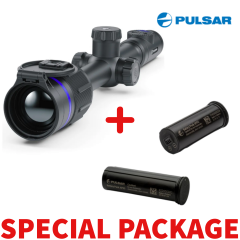 Pulsar THERMION 2 Thermal Imaging  XQ38 Riflescope Package