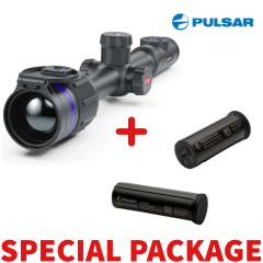 Pulsar THERMION 2 Thermal Imaging  XQ50 Rflescope Package