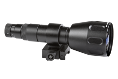 AGM Sioux850 Long-Range Infrared Illuminator comes included with Rechargeable Battery and Charger