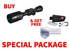 ATN X-Sight-4k 5-20x Day-Night Digital Hunting Rifle Scope Package