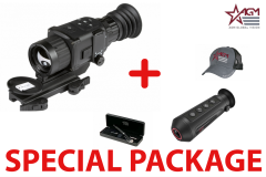 AGM Rattler TS35-384  Compact Medium Range Thermal Imaging Rifle Scope 384x288 (50 Hz), 35 mm lens Package