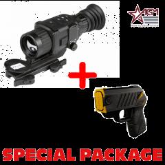 AGM Rattler TS25-384  Compact Short/Medium Range Thermal Imaging Rifle Scope 384x288 (50 Hz), 25 mm lens Package