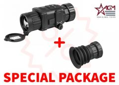 AGM Rattler TC35-384  Compact Medium Range Thermal Imaging Clip-On 384x288 (50 Hz), 35 mm lens Package