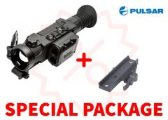 Pulsar Trail 2 LRF XP50 Thermal Riflescope Package