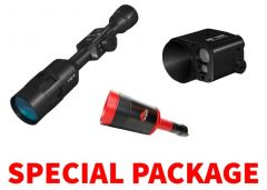 ATN X-Sight-4k 5-20x Day-Night Digital Hunting Rifle Scope and ATN ABL Smart Rangefinder Package