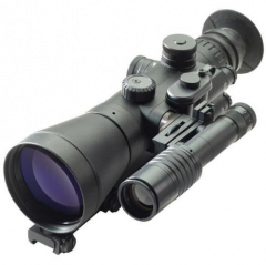 D-740PW 4.0x62 B&W High Performance NV Sight, White Phosphor Auto-gated Photonis ECHO with Manual Gain