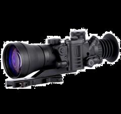 D-750UW 4.0x66 B&W Elite NV Sight, White Phosphor MILspec Gen 3+ Unfilmed with Manual Gain