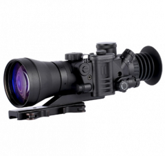 D-790UW 6.0x83 B&W Elite NV Sight, White Phosphor MILspec Gen 3+ Unfilmed with Manual Gain, HD Optics
