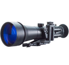 D-760PW 6.0x83 B&W High Performance NV Sight, White Phosphor Photonis ECHO Auto-gated with Manual Gain