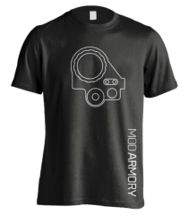 Mod Armory PVS-14 T-Shirt Black/White M