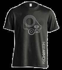 Mod Armory PVS-14 T-Shirt Black/White XXL