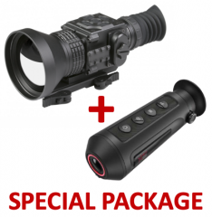 AGM Secutor TS75-384 – Compact Long Range Thermal Imaging Rifle Scope 384x288 (50 Hz), 75 mm lens Package