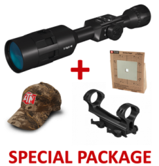 ATN X-Sight-4k 5-20x Day-Night Digital Hunting Rifle Scope Package