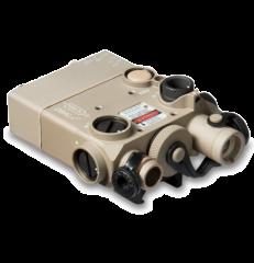 Steiner LDI DBAL-I2 Dual Beam Visible Red Laser Tan