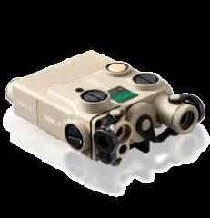 Steiner DBAL-A3 Civilian Dual Beam Aiming Laser - Desert Sand Color