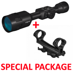 ATN X-Sight-4k 3-14x Pro Smart Day and Night Vision Hunting Rifle Scope Package