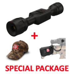 ATN ThOR LT 4-8x Thermal Rifle Scope Package