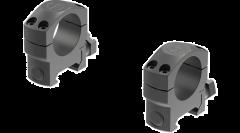 "Leupold Mark 4 Scope Ring Set Picatinny Rail Medium 1"" Matte Black Steel"