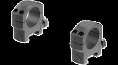 "Leupold Mark 4 Scope Ring Set Picatinny Rail Medium 1"" Matte Black Aluminum"