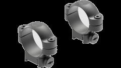 Leupold Ringmounts Scope Ring Set Sako Medium 30mm Matte Black Steel