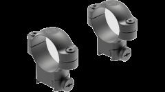 Leupold Ringmounts Scope Ring Set Sako High 30mm Matte Black Steel