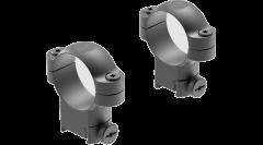 Leupold Ringmounts Scope Ring Set Sako Super High 30mm Matte Black Steel