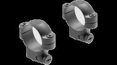 Leupold Ringmounts Scope Ring Set Ruger #1, 77/22 Medium 30mm Matte Black Steel