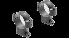 Leupold Ringmounts Scope Ring Set Ruger #1, 77/22 High 30mm Matte Black Steel