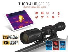 ATN ThOR 4 640 2.5-25X50 Smart HD Thermal Riflescope